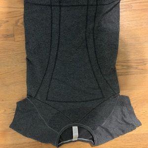 Ivivva Dark Grey workout top